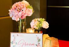 Blush Pink & Glamorous Gold Wedding by Glitz&Glam Studiobooth