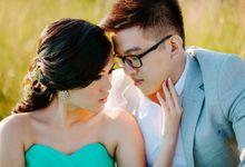 Prewedding William & Vanessa by PUTRABALIPHOTOGRAPHY