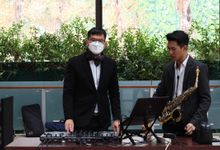 Wedding Reception feat Sax - first show on 2021 by DJ Perpi