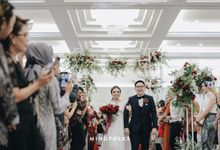 Tea Pai Ceremony and Reception of Setiawan & Cyntia by  Menara Mandiri by IKK Wedding (ex. Plaza Bapindo)