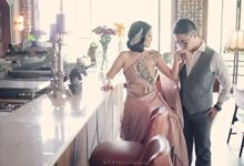 Prewedding of Hindra & Meldiane by MICHECILLE Atelier