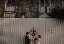 Penang prewedding street photography by Amelia Soo photography