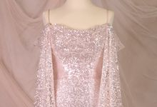 Silver Pink sister dress by iLook ( Makeup & Couture )