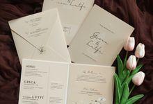 Gisca & Lutfi by Vinas Invitation
