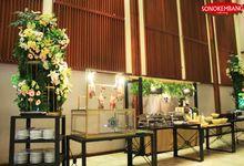 WEDDING OF GEA & ADHYA by Sonokembang Catering