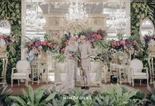 National Wedding of Karina & Harry by  Menara Mandiri by IKK Wedding (ex. Plaza Bapindo)