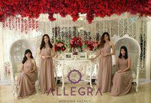 Penerima Angpao at Hotel Borobudur by Allegra Wedding Agency