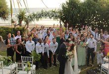 Wedding Ceremony of Vincent and Fadilla by WakaGangga Resorts