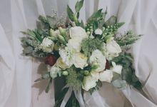 Bridal Bouquet by Lacey Florist