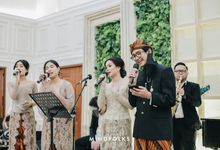 The Wedding of Dhiya & Bagus by  Menara Mandiri by IKK Wedding (ex. Plaza Bapindo)