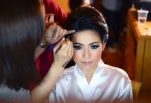 Vincy Wedding Makeup by Sylvia MKP-Makeup Studio