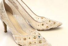 Vinette White (Pearls + Swarovski) by SERVERESTA