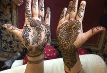 Henna for Indian Wedding by Nirvana Henna by Shinta