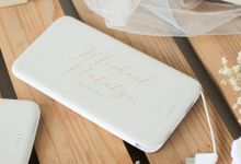 Michael & Natalyn - Custom powerbank by PORTÉ by Clarin