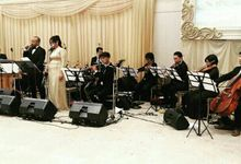 Wedding Abraham & Clara by Hanny N Co Orchestra