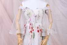 White summer floral dress by iLook ( Makeup & Couture )