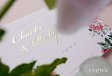 Charlie + Pinky by Caramel Card