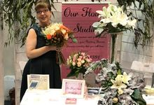 Perth Bridal Fair March 2018 by Our Flower Studio