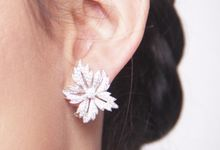 Beautiful in White by CLARTE Jewellery