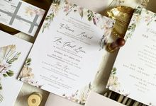 Magical Garden by Trouvaille Invitation
