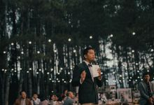 Arnov & Michelle Wedding by Vedie Budiman