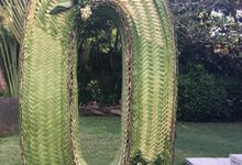 Handwoven Letters and Numbers by Make A Scene! Bali
