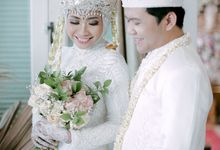 The Wedding Of Santi & Prastyo by Villa Srimanganti