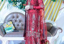 Ustadzah Halimah - Indian Wedding by Sarah MakeUp Studio