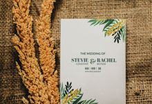 From Stevie & Rachel Wedding by Signore Gift
