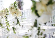 Wedding Decoration at Sky Ayana by Joseph Photo by Red Gardenia