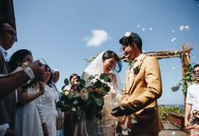 Wedding of Debora & David by Mata Zoe