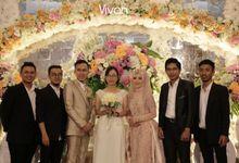 The Wedding Of Eva and Prima 23 Desember 2018 by Vivando Music Entertainment
