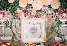 Dilla & Calvin - Intimate Wedding On The Day Coordinator by Kembang Peningset
