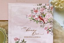 Tales of Peonies by Trouvaille Invitation