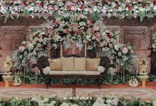 The Wedding of Danis & Monic by  Menara Mandiri by IKK Wedding (ex. Plaza Bapindo)