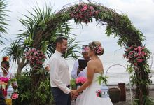 Intimate Wedding of Joelle and Gael by WakaGangga Resorts