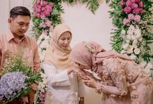 Enggagement Farah Ridho by theSerenade Organizer