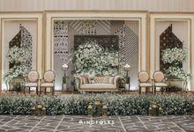 New Normal Javanese Wedding of Winda & Arfi by Menara Mandiri by IKK Wedding (ex. Plaza Bapindo)