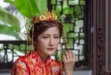 Traditional Chinese Bridal Photoshoot by Vera Morgana
