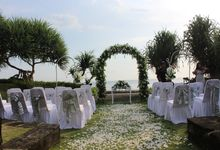 Wedding Ceremony of Peter Simmonds and Yuliya by WakaGangga Resorts