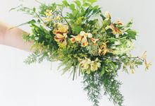 Green & Eco Wedding by Fall for Flowers