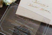 Bridal shower of Pamela by Vinas Invitation