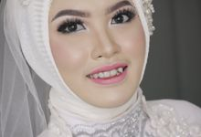 Putri's Wedding by Dian Salon