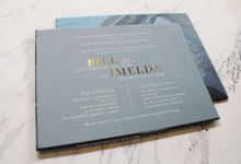Bill & Imel by Vinas Invitation