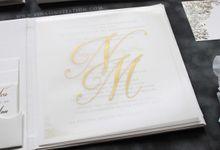 Nicholas & Mary by Vinas Invitation