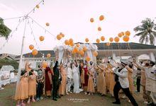 The Wedding Of Ayu by Villa Srimanganti