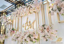 Wedding of Adhyatma & Monica by Alleka Design