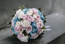Classic baby blue at Ritz carlton by Silverdust Decoration
