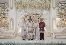 The Wedding of  Azky & Radhitya by  Menara Mandiri by IKK Wedding (ex. Plaza Bapindo)