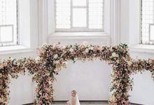 Wedding Magazine Russia by Maria German decor